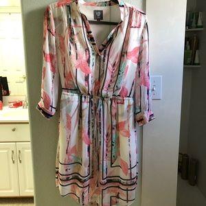 Floral Vince Camuto Dress Size 4